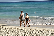 older couple strolling the barbados beach.jpg (25470 bytes)